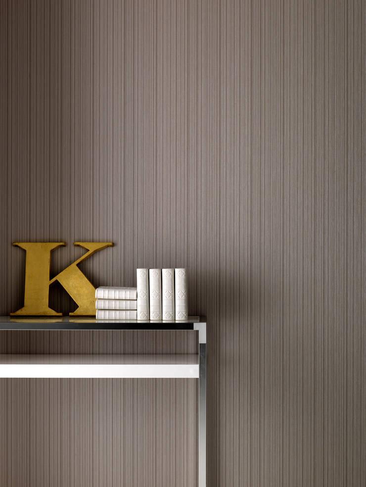 Kelly Hoppen Lineair Kelly's Taupe :  Muren & vloeren door Graham & Brown