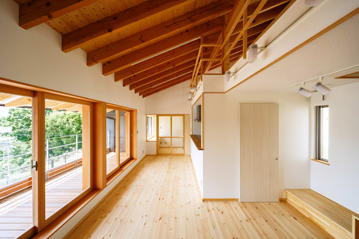 リビング: 建築工房 at easeが手掛けたリビングです。