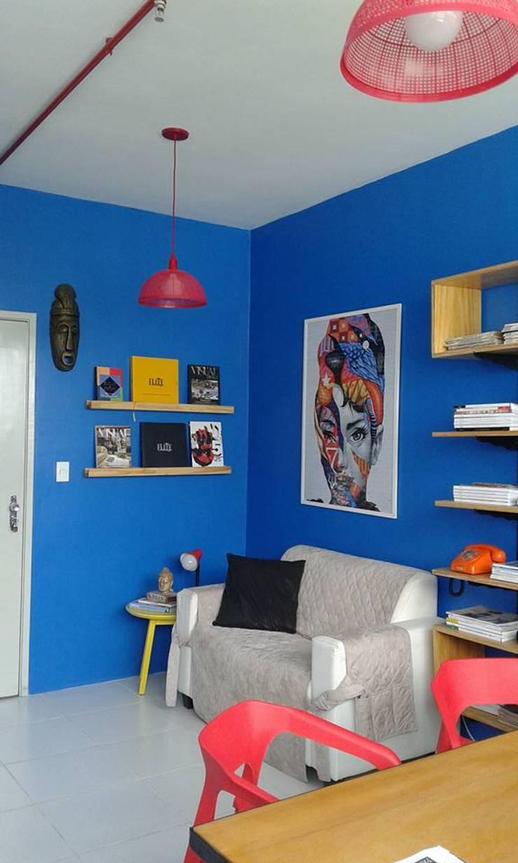 Escritório de Design de Interiores: Espaços comerciais  por Interior Design Christiano Carvalho