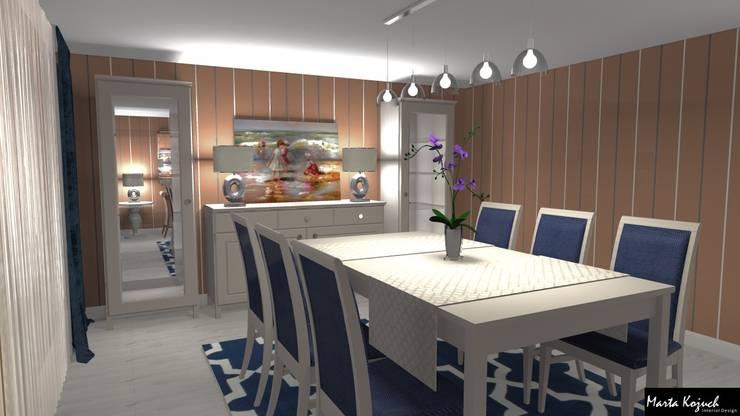Pokój dzienny: styl , w kategorii Salon zaprojektowany przez Marta Kożuch Interior Design,Klasyczny