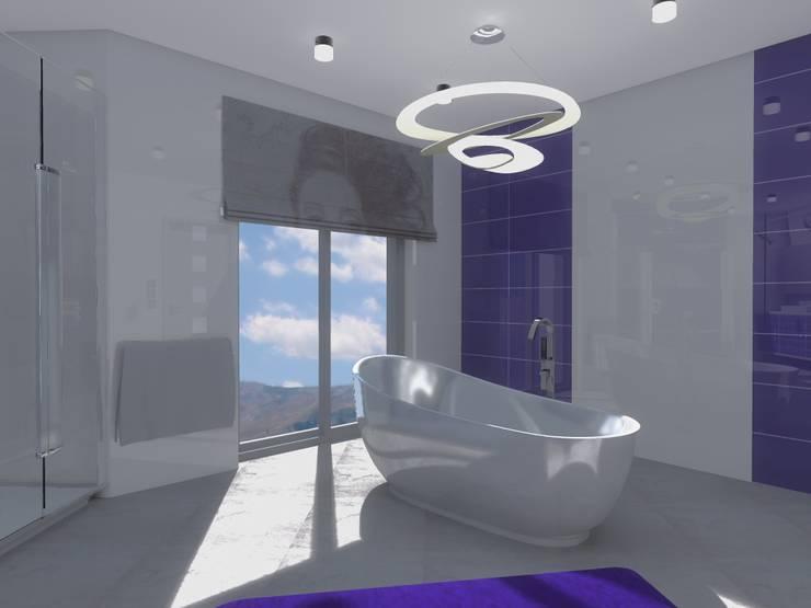 Moderne Badezimmer von Marta Kożuch Interior Design Modern