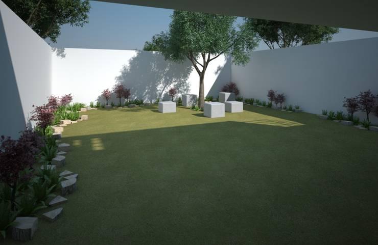 Garten von Axios Arquitectos