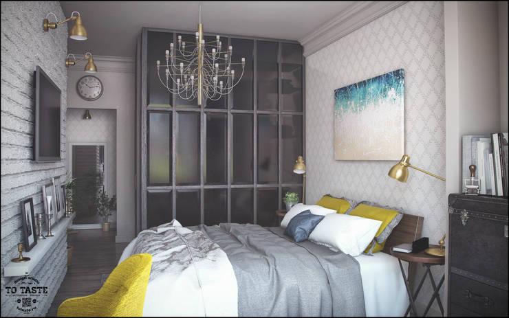 Квартира в Санкт-Петербурге: Спальни в . Автор – ToTaste.studio,
