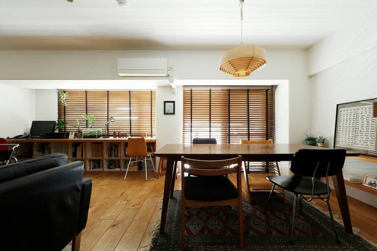 シンプルに住む家 インダストリアルデザインの ダイニング の ELD INTERIOR PRODUCTS インダストリアル