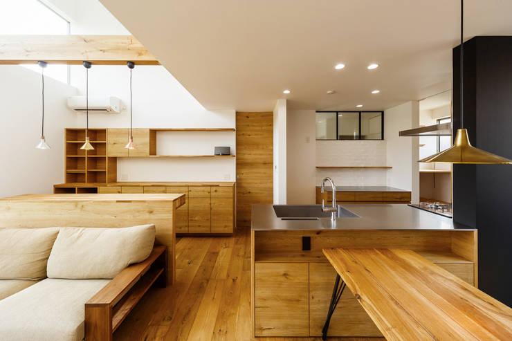 Projekty,  Jadalnia zaprojektowane przez 一級建築士事務所haus