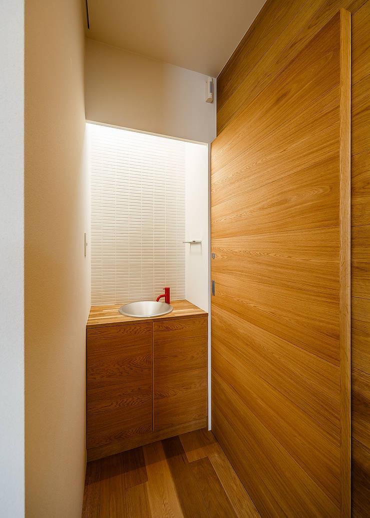 wrap: 一級建築士事務所hausが手掛けた浴室です。