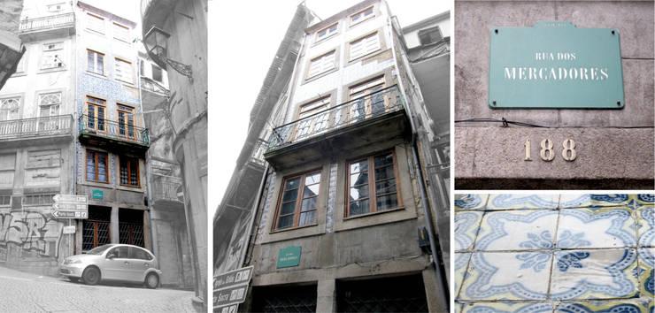 Remodelação: Casas  por B(A)ª Balthazar Aroso arquitectos, Lda