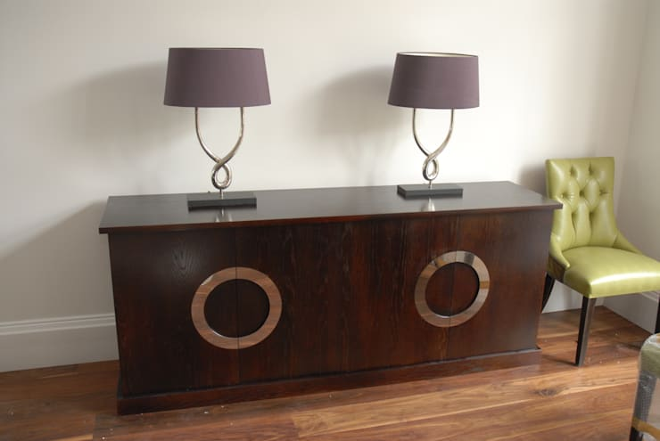 Oak sideboard: modern Dining room by Neil Busby - Fine Furniture