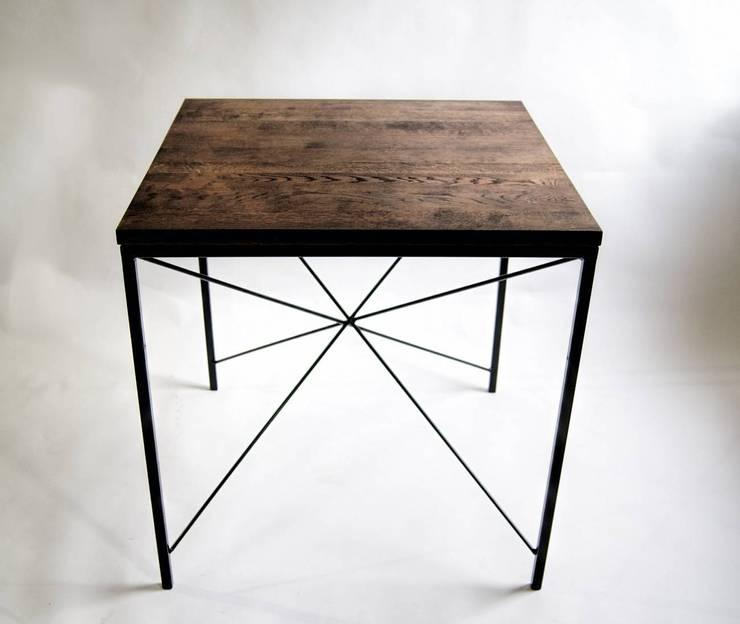 Stół modernistyczny KIRUNA X: styl , w kategorii Kuchnia zaprojektowany przez NordLoft - Industrial Design