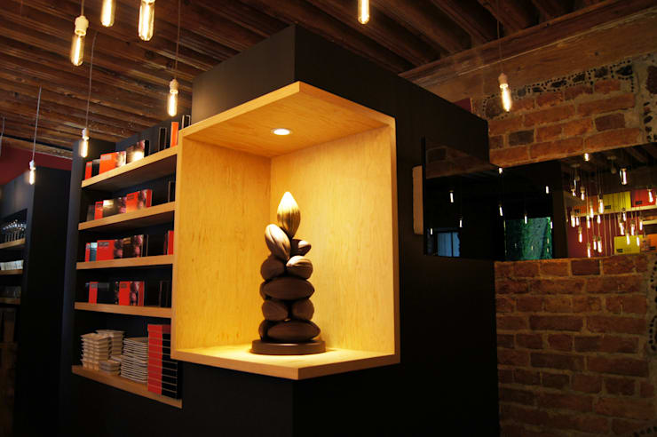 Que Bo! Centro Historico: Restaurantes de estilo  por Metro arquitectos
