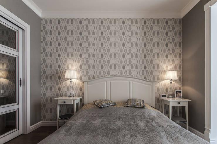Спальня в американском стиле:  в . Автор – студия Дизайн Квадрат