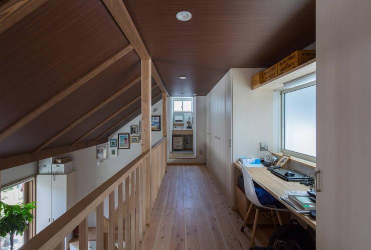 【快適健康環境+Design】森建築設計의  복도 & 현관