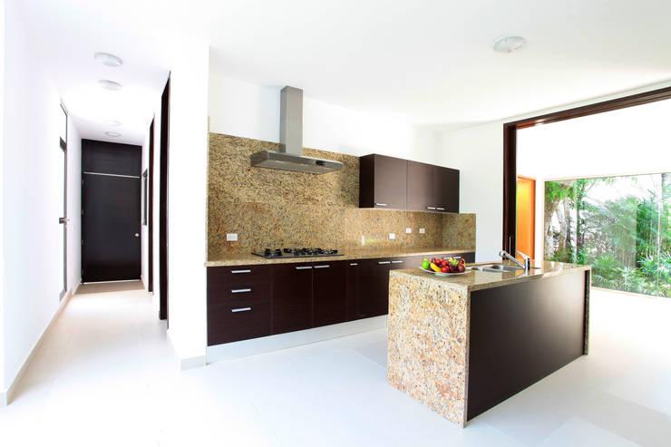 modern Kitchen by Enrique Cabrera Arquitecto