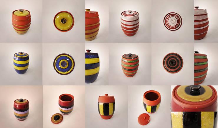 줄무늬 라인 - Stripe Line: 하랑(HARANG ceramic studio) 의  주방