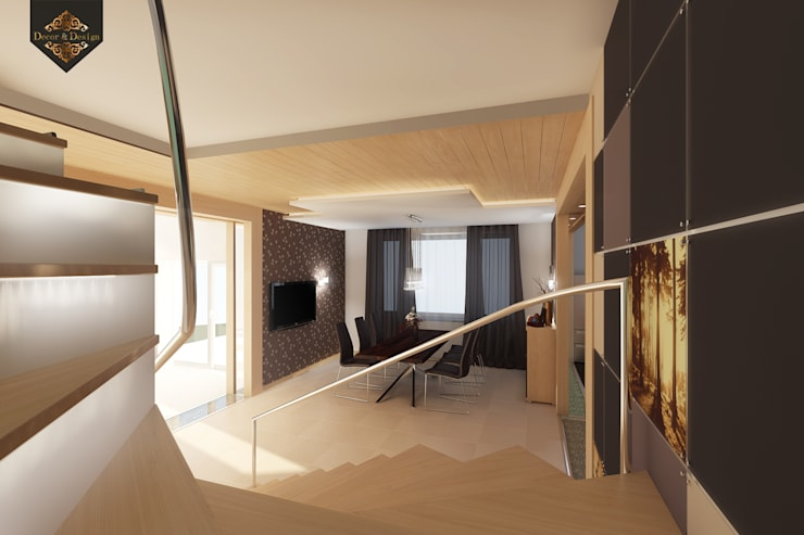 Уютный минимализм: Коридор и прихожая в . Автор – Decor&Design