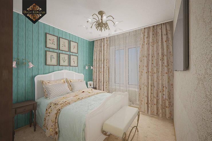 Camera da letto in stile in stile Rustico di Decor&Design