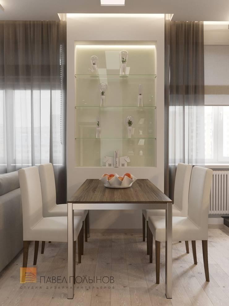 Кухня-гостиная: Гостиная в . Автор – Студия Павла Полынова