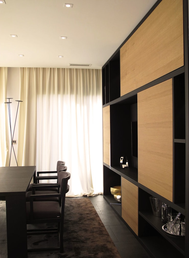 Dining room by Studio Matteoni
