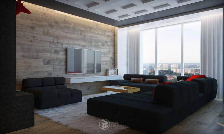 Квартира в Броварах 2: Гостиная в . Автор – 27Unit design buro