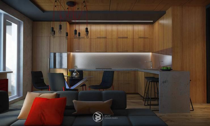 Квартира в Броварах 2: Кухни в . Автор – 27Unit design buro