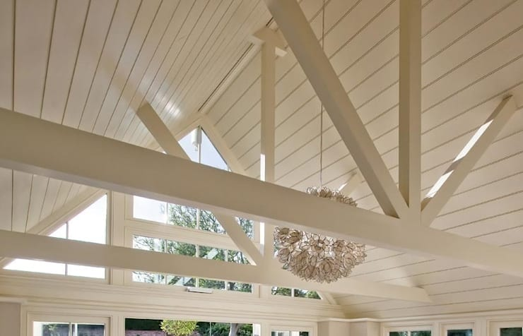 Interior roof:  Conservatory by Westbury Garden Rooms