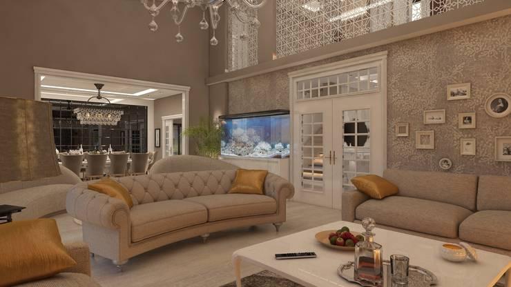 3D TASARIM ATÖLYESİ – salon:  tarz İç Dekorasyon