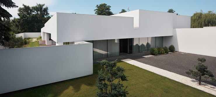 Casas modernas de KMA Kabarowski MIsiura Architekci Moderno