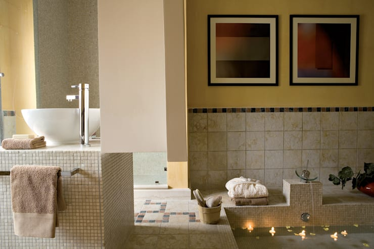 Bagno: Bagno in stile  di PDV studio di progettazione