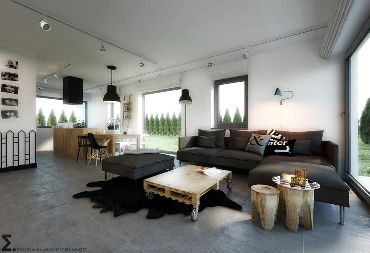 Salas de estilo escandinavo por homify