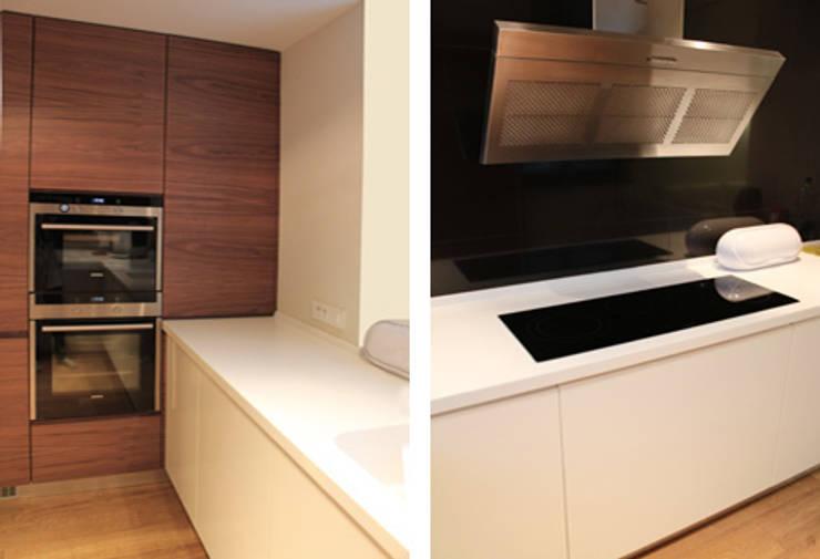 Projekt  wnętrza domu w Krakowie: styl , w kategorii Kuchnia zaprojektowany przez MK-ARCHITEKCI,