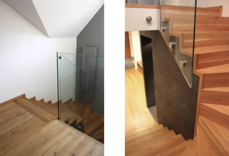 Projekt  wnętrza domu w Krakowie: styl , w kategorii Korytarz, przedpokój zaprojektowany przez MK-ARCHITEKCI,
