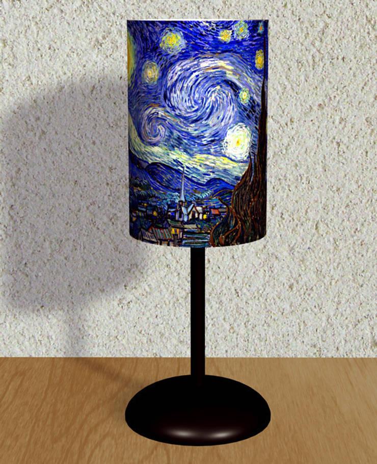 iF Dizayn Tasarım Ürünleri – iF Dizayn Van Gogh Abajur:  tarz Ev İçi