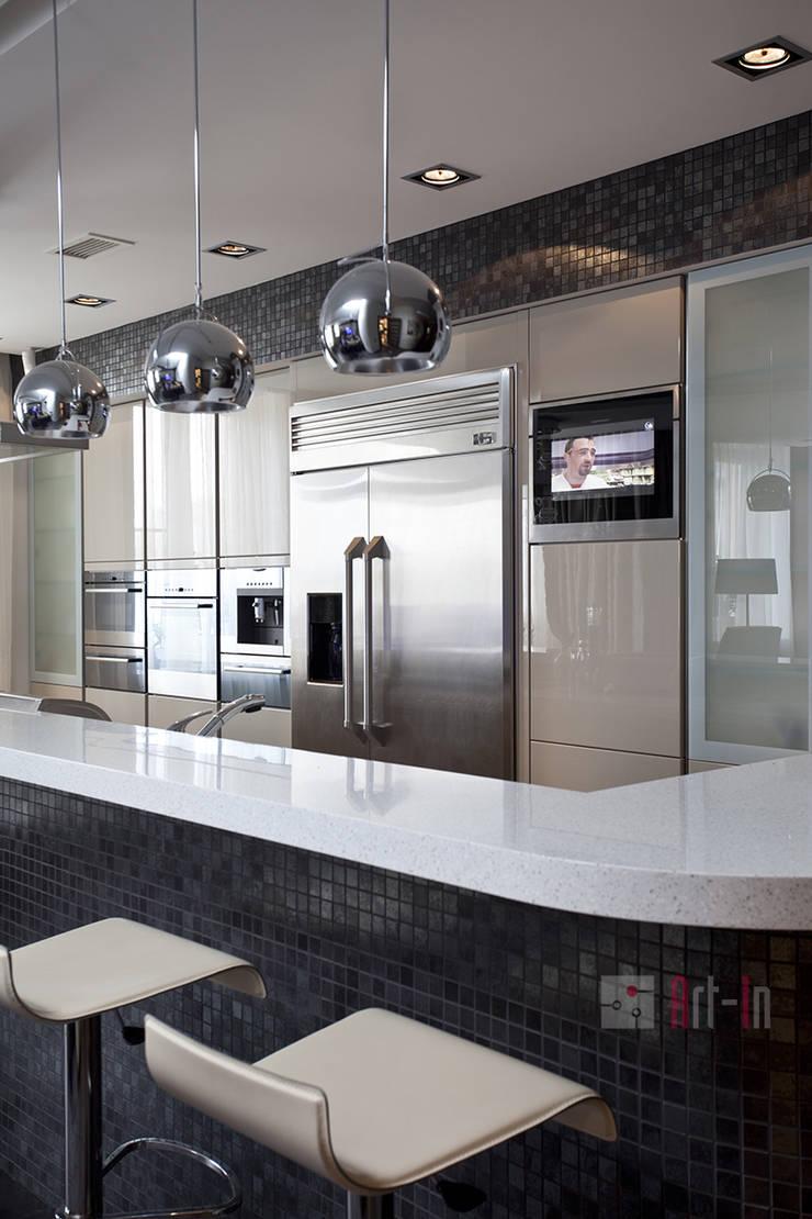 Комфортный Умный Дом: Кухни в . Автор – Art-In