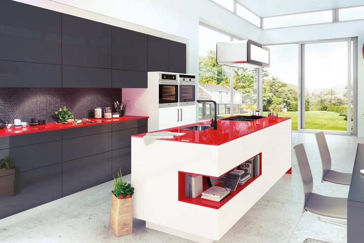 minimalistic Kitchen by Немецкие кухни