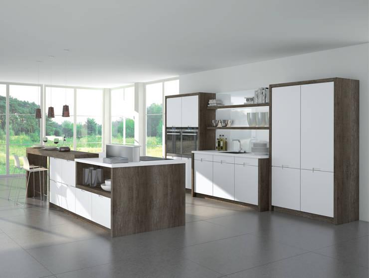 industrial Kitchen by Немецкие кухни