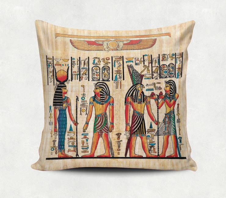 iF Dizayn Tasarım Ürünleri – iF Dizayn Mısır Firavun Yastık Kırlent: modern tarz , Modern