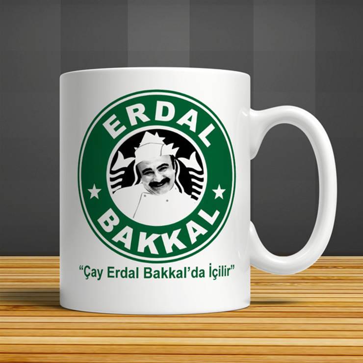 iF Dizayn Tasarım Ürünleri – iF Dizayn Erdal Bakkal Seramik Kupa:  tarz Mutfak