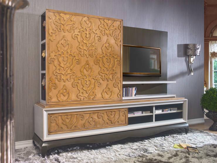 Классическая мебель: Гостиная в . Автор – Немецкие кухни