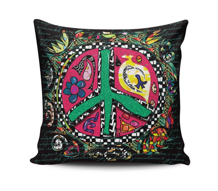 iF Dizayn Tasarım Ürünleri – iF Dizayn Peace Barış Yastık Kırlent: modern tarz , Modern