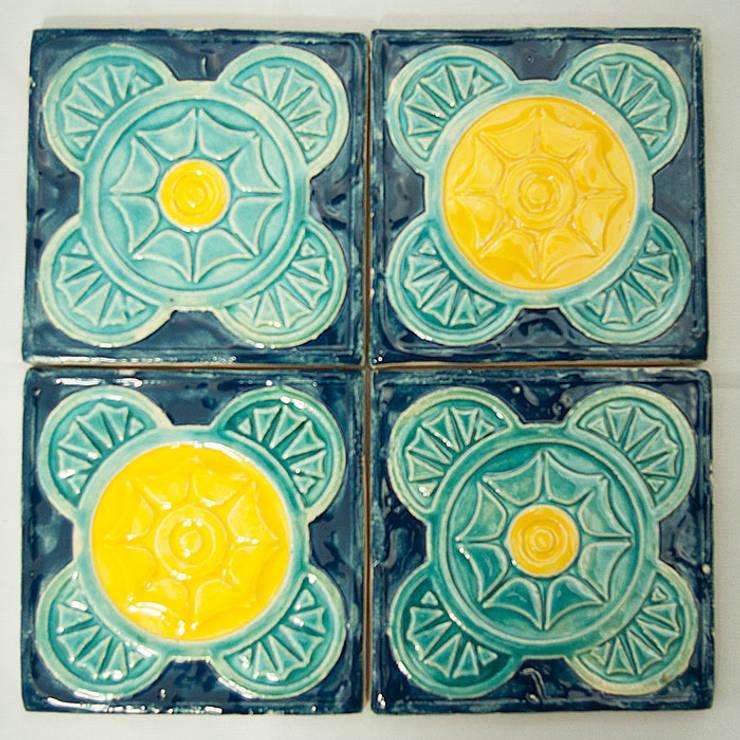 Dekory Geometry: styl , w kategorii Ściany i podłogi zaprojektowany przez Dekory Nati