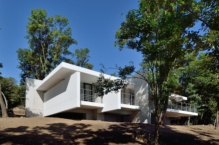 Casas  por アトリエ環 建築設計事務所
