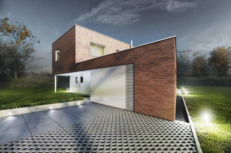 Casas de estilo  de modero architekci , Moderno