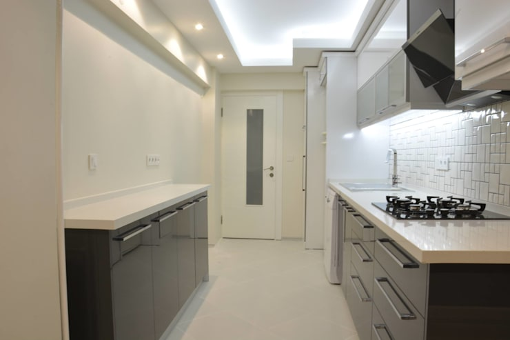 ACS Mimarlık – Narlıdere'de Yeni Bir Yaşam, İzmir:  tarz Mutfak