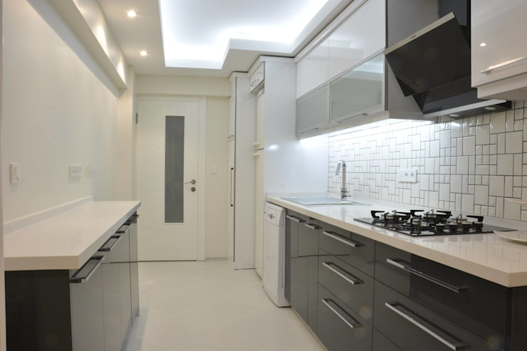 Minimalistische Küchen von ACS Mimarlık Minimalistisch