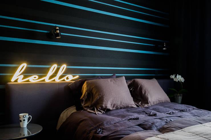 Modern style bedroom by Jacek Tryc-wnętrza Modern