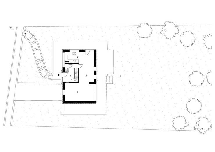 Nhà by ici architectes sprl
