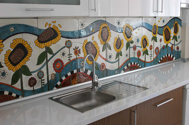 Come decorare la cucina 10 bellissime idee for Piastrelle cucina disegnate