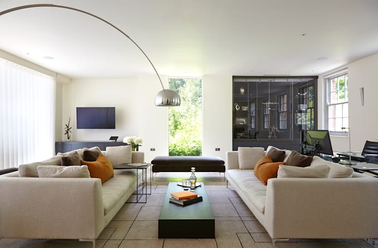 Projekty,  Salon zaprojektowane przez Concept Interior Design & Decoration Ltd