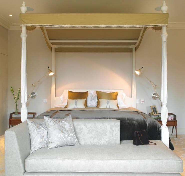 Bedroom, Manor Farm, Oxfordshire:  Bedroom by Concept Interior Design & Decoration Ltd