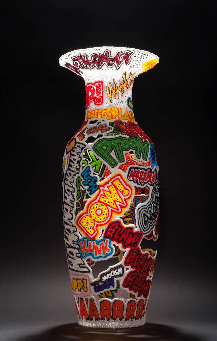Aaaarghh!! 60cm:  Kunst  door Studio Sebastiaan Straatsma